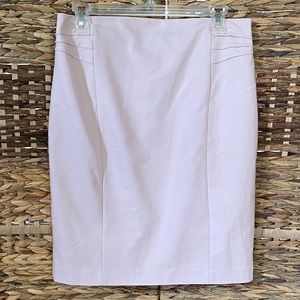 Express Light Pink Pencil Professional Skirt